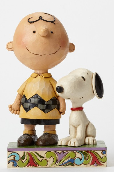 Peanuts by Jim Shore Charlie Brown and Snoopy Friendship Statue