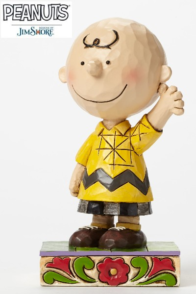 Peanuts by Jim Shore Charlie Brown Personality Pose Statue