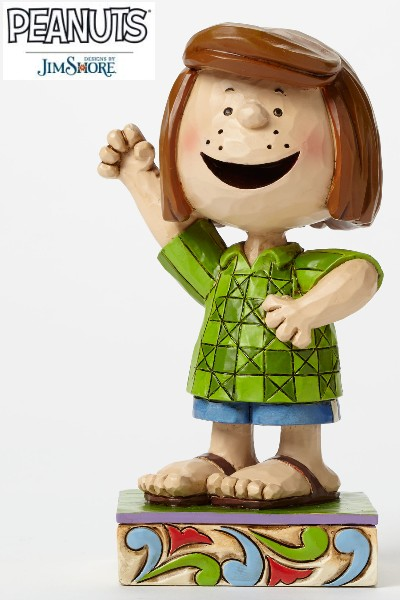 Peanuts by Jim Shore Peppermint Patty Personality Pose Statue