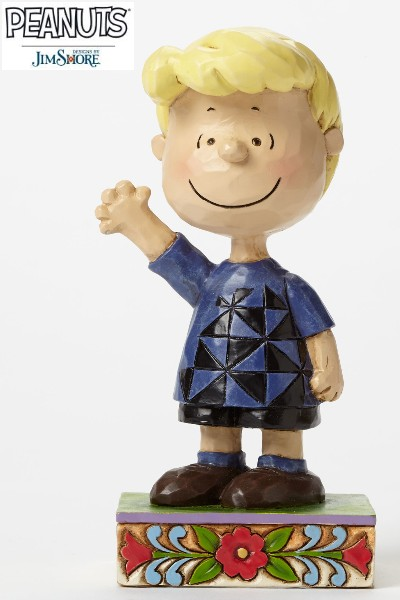 Peanuts by Jim Shore Schroeder Personality Pose Statue