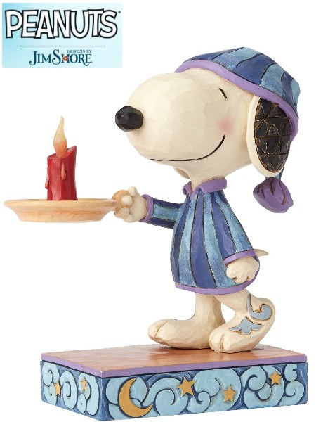 Peanuts by Jim Shore Snoopy Bedtime Beagle Statue