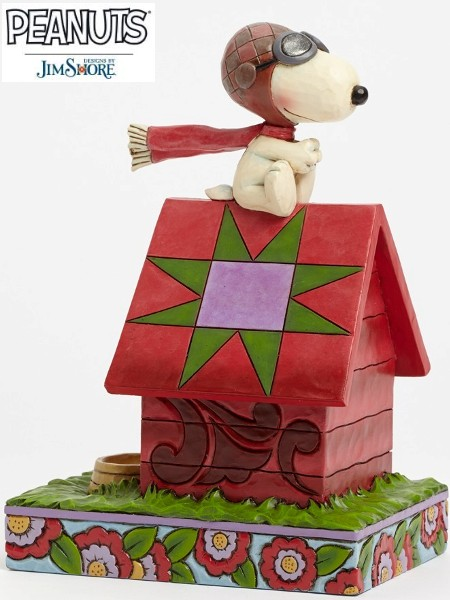 Peanuts by Jim Shore Snoopy the Flying Ace Statue
