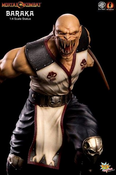 Pop Culture Shock Mortal Kombat 9 Baraka 18 Inch Statue
