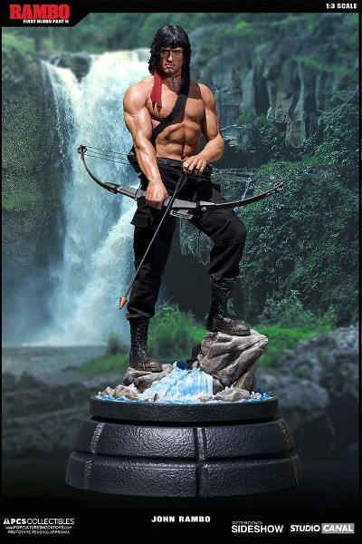 Pop Culture Shock Rambo 1:3 Scale Statue Exclusive