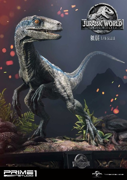 Prime 1 Studio Jurassic World Fallen Kingdom Blue Exclusive