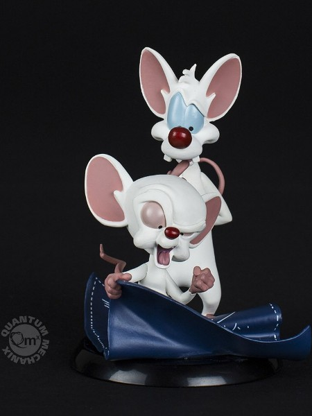 QMx Warner Bros Pinky and the Brain Q-Fig PVC Figure
