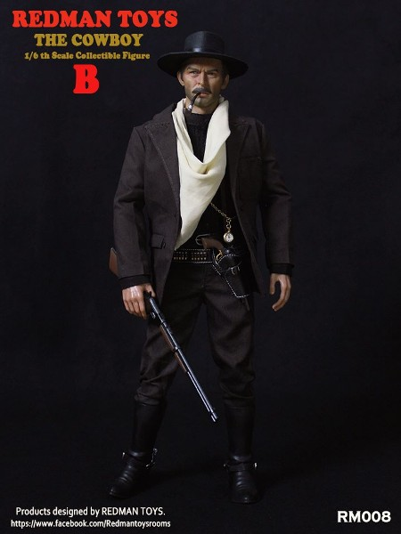 Redman Toys The Good The Bad and The Ugly Bad Cowboy Figure