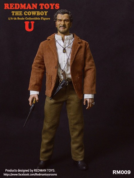 Redman Toys The Good The Bad and The Ugly Ugly Cowboy Figure