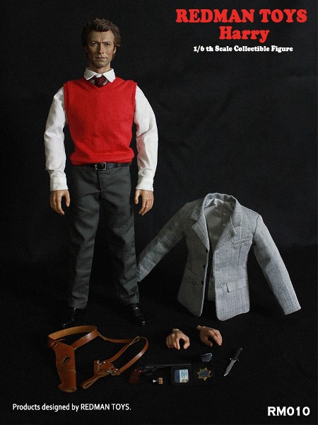 Redman Toys Clint Eastwood as Dirty Harry Sixth Scale Figure