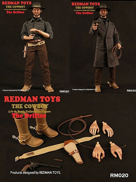 Redman Toys High Plains Drifter The Stranger Cowboy Figure