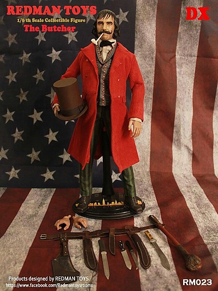 Redman Toys Gangs of New York The Butcher Sixth Scale Figure