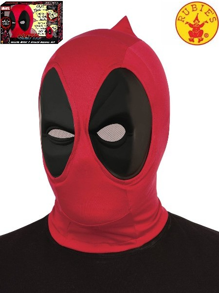Rubies Marvel Deadpool Deluxe Mask and Speech Bubble PX Box Set