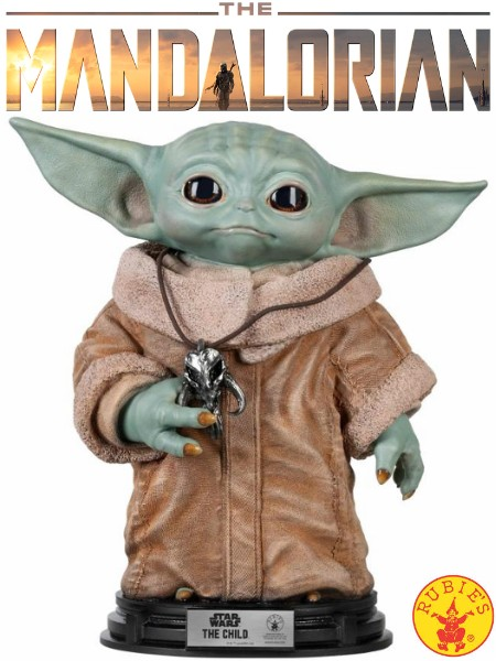 Rubies Star Wars The Mandalorian The Child Life Size Statue