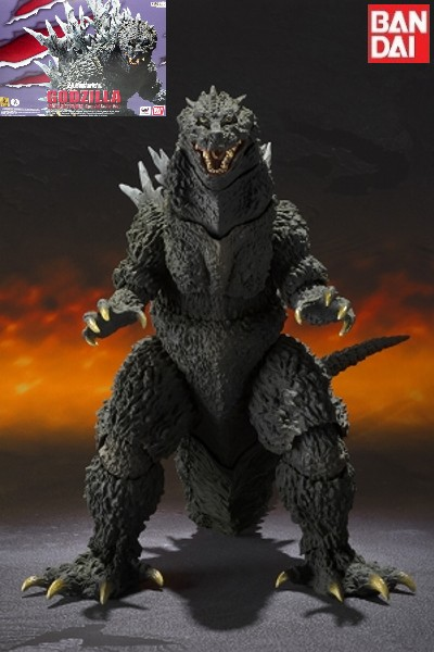 Bandai Tamashii Nations S.H. MonsterArts 2000 Godzilla Figure