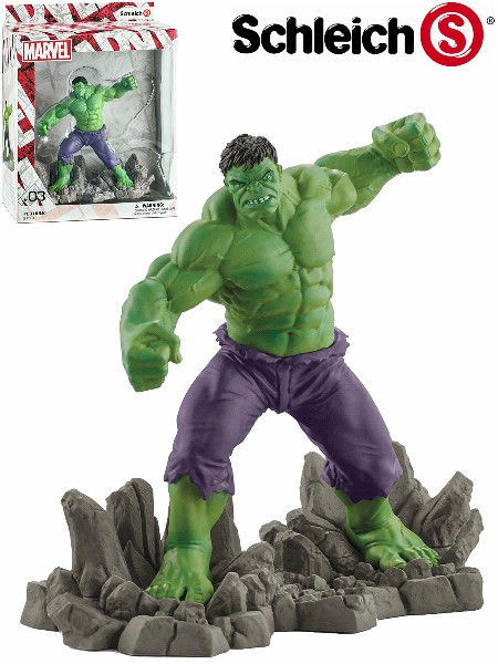 Schleich Marvel The Hulk PVC Figurine
