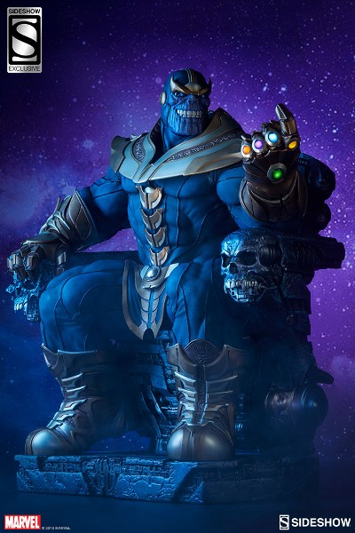 Sideshow Marvel Guardians of the Galaxy Thanos Throne Exclusive