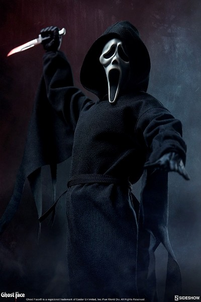 Preorder Sideshow Scream Ghostface Sixth Scale Figure