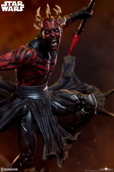 Preorder Sideshow Star Wars Darth Maul Statue