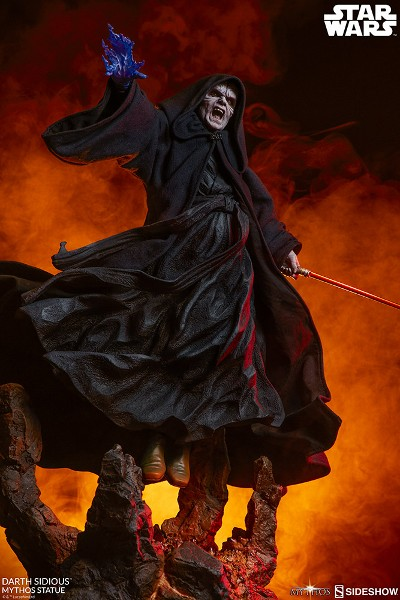 Preorder Sideshow Star Wars Darth Sidious Mythos Statue