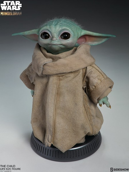 Preorder Sideshow Star Wars The Mandalorian The Child Life Size