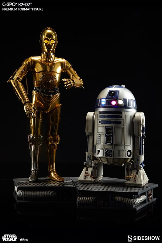 Sideshow Star Wars C-3PO and R2-D2 Premium Format Figure Set