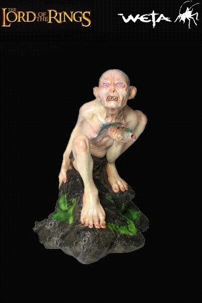 Sideshow Weta The Lord of the Rings Gollum as Gollum Statue