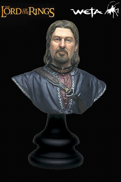 Sideshow Weta The Lord of the Rings Boromir Son of Denethor Bust