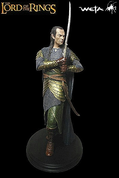 Sideshow Weta The Lord of the Rings Elrond Polystone Statue