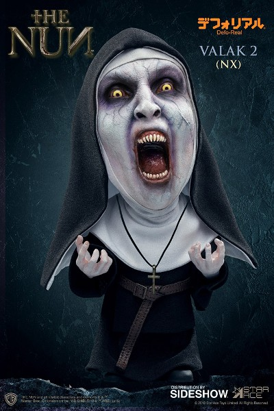 Star Ace Toys Defo-Real Series The Nun Valak Open Mouth Statue