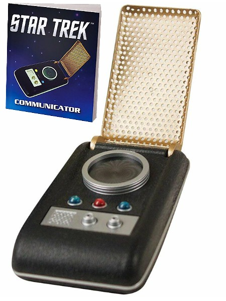 Running Press Star Trek Light and Sound Mini Communicator