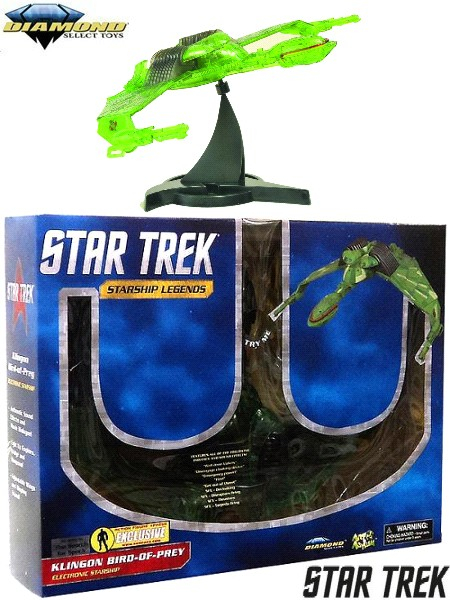 Diamond Select Toys Star Trek III Klingon Bird of Prey Ship
