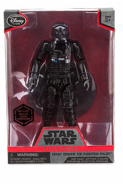 Hasbro Star Wars Elite Series Die Cast First Order TIE Pilot Fig