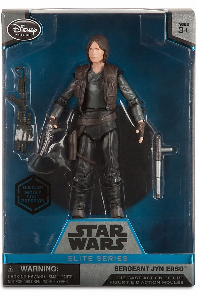 Hasbro Star Wars Elite Series Die Cast Rogue One Jyn Erso Figure