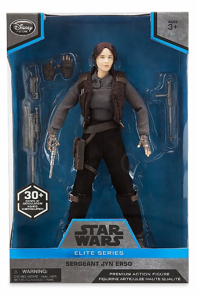 Star Wars Elite Series Jyn Erso Premium 10 Inch Action Figure