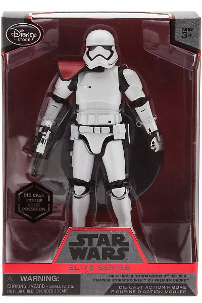 Star Wars Elite Series First Order Stormtrooper Officer Die Cast