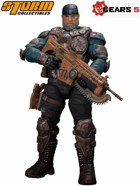 Storm Collectibles Gears of War 5 Marcus Fenix Exclusive Figure