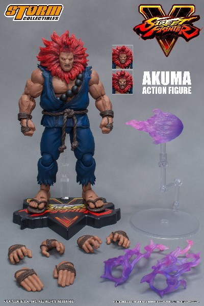 Storm Collectibles Street Fighter V Akuma Collectible Figure