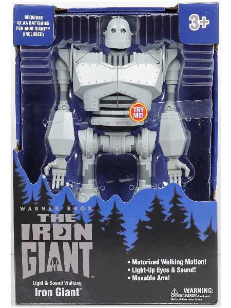Goldlok The Iron Giant Light and Sound Motorized 14 Inch Figure