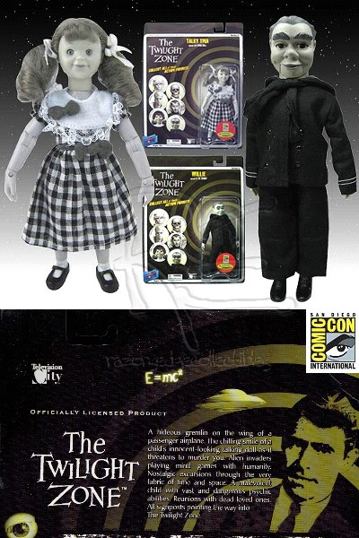 Bif Bang Pow! The Twilight Zone Talky Tina and Willie Figure Set