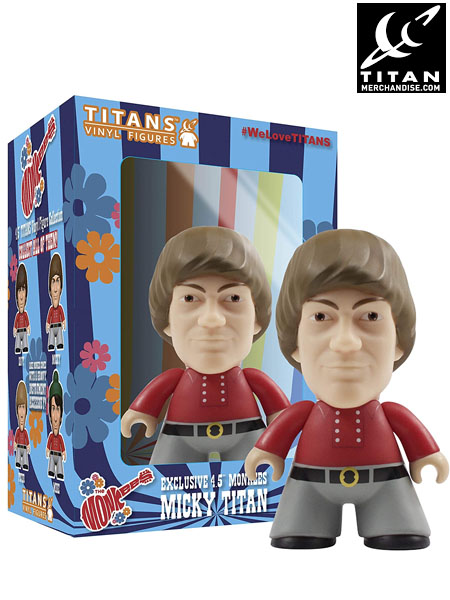 Titan Merchandise The Monkees Mickey Dolenz 4.5 Inch Figure