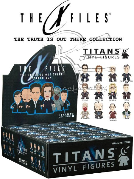 Titan X-Files Truth is Out There Mini Figure Display Box of 20