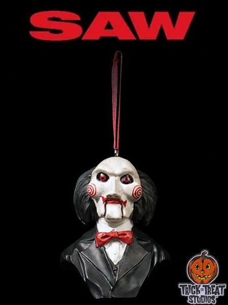 Trick or Treat Studios Holiday Horrors Saw Billy Puppet Ornament