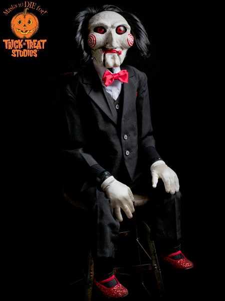 Trick or Treat Studios Saw Billy Puppet Life Size Prop Replica