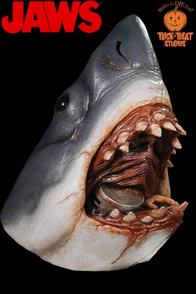 Trick or Treat Studios Jaws Bruce the Shark Deluxe Mask