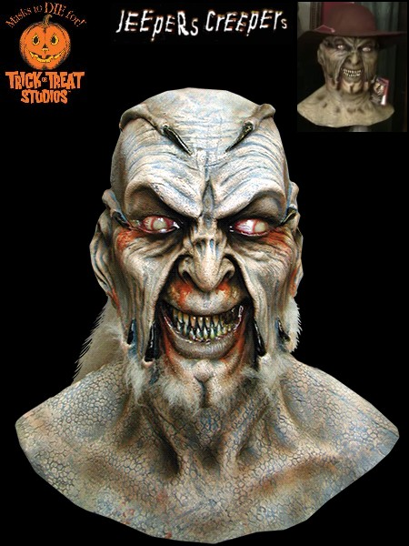 Trick or Treat Studios Jeepers Creepers The Creeper Mask and Hat