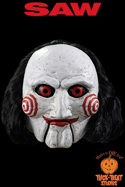 Trick or Treat Studios Saw Billy the Puppet Mask