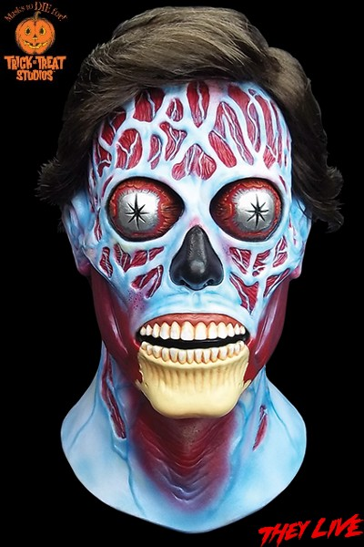 Trick or Treat Studios They Live Alien Full Head Mask