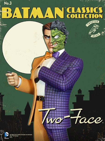 Tweeterhead DC Batman Classic Collection Two Face Maquette