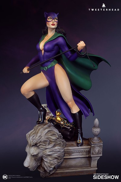 Tweeterhead DC Comics DC Super Powers Catwoman Maquette