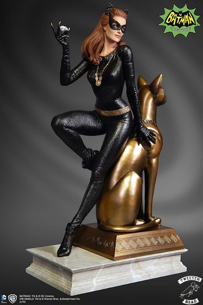 Preorder Tweeter Head DC Julie Newmar as Catwoman Maquette